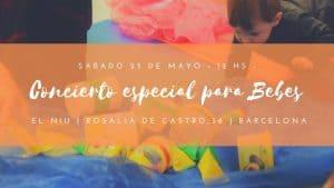 Concierto especial para Bebés! @ El Niu