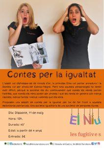 CONTES PER LA IGUALTAT @ El Niu