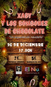 XABY Y LOS BOMBONES DE CHOCOLATE @ El Niu